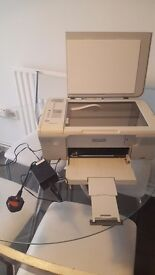HP colour printer and scanner
