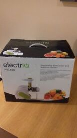 Masticating Electriq Juicer. Was £80 new. Sell for £40.
