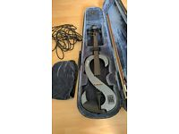 Stagg electric violin, barely used, in case, complete.