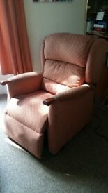 Armchair - electric recliner and riser
