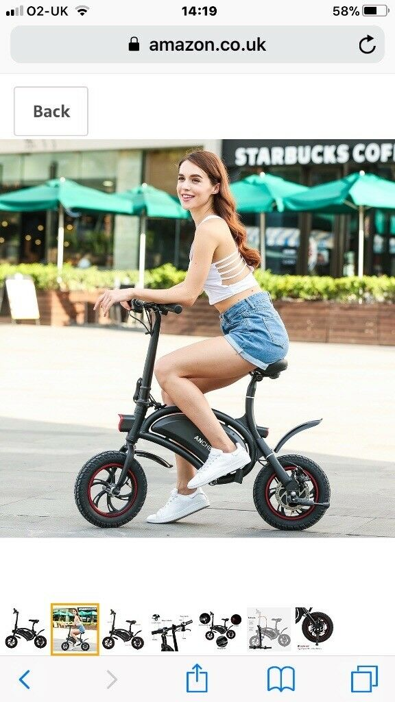 Ancheer fully electric bike