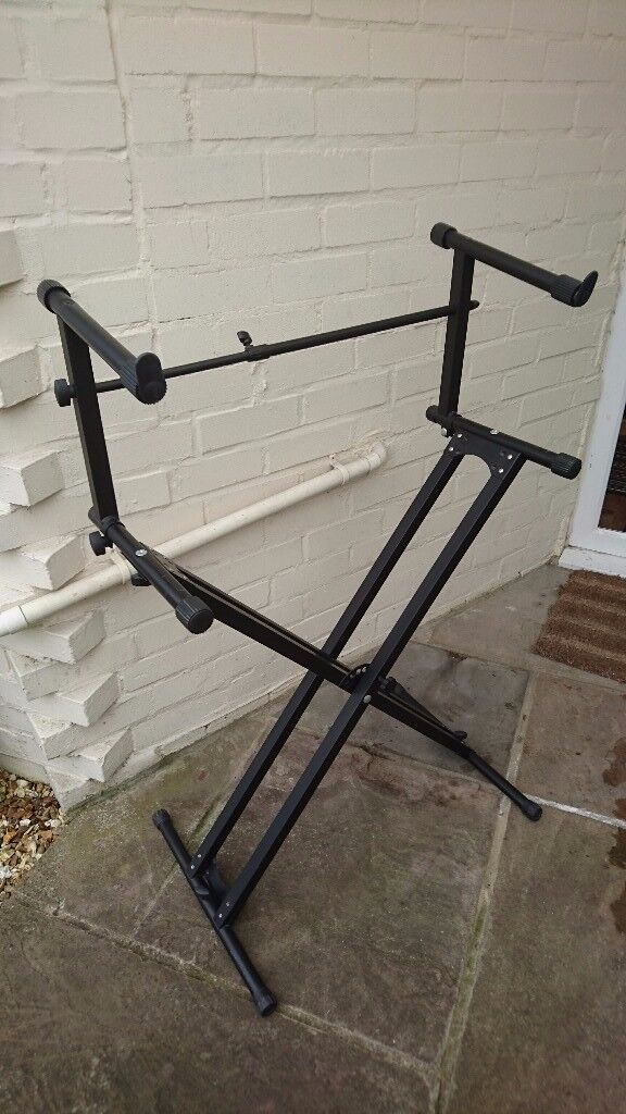 X type 2 tier Keyboard stand.