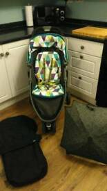 Graco Evo Mini pram, pushchair, stroller, buggy