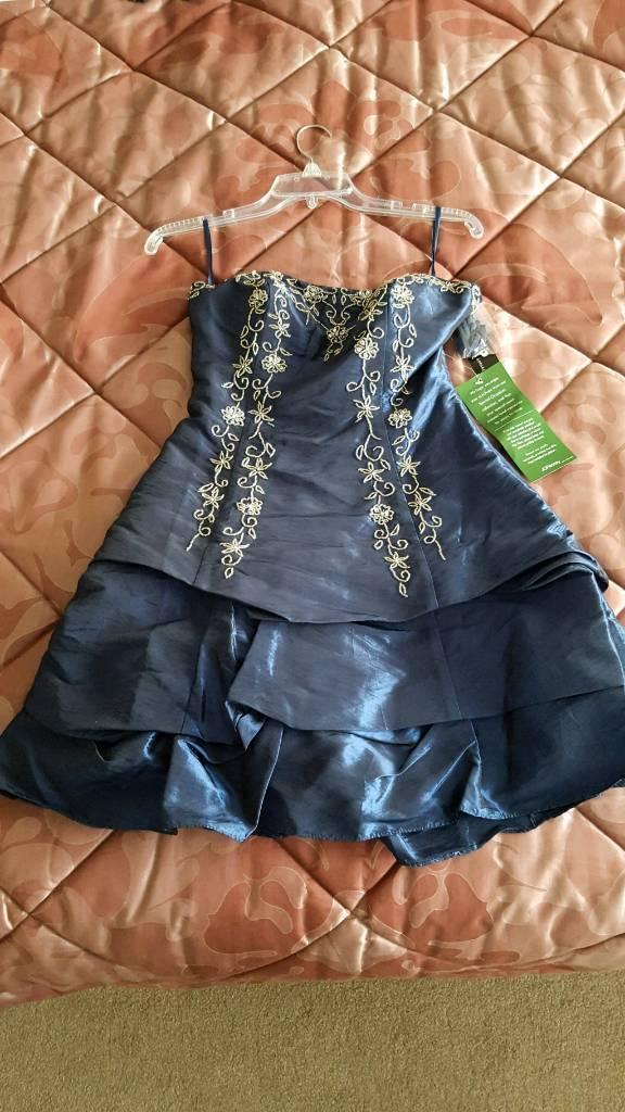 Brand new silk dress.