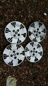 Fiat Panda Steel Wheels Set of 4 with Tyres and Trims