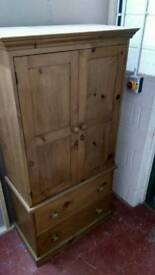 Hand crafted solid wood kitchen larder cupboard