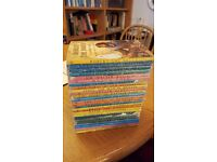 Collection of early Ladybird children's books