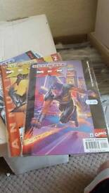 200 + comic books, xmen, fantastic 4