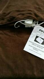 Electric blanket throw PIFCO new