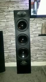 Warfedale valdus 500 floor standing speakers