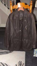 quailty leather coat