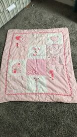 Baby cot bed duvet and duvet covers & bumber