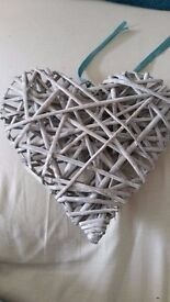 Large Wooden Decorative Hearts