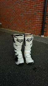 FOX COMP 5 motorcycle boots size 8.5