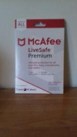 McAfee Livesafe premium