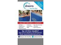 Hot Tub Hire from £115