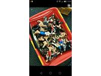 WWE figurines and accessories