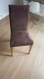 Oak Dining chairs x 6