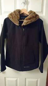 Marmot Womens Black Softshell Furlong Jacket. Medium. Rarely worn, great condition.