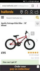Apollo outrage 18 bike