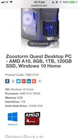 ZOOSTORM Low end gaming pc
