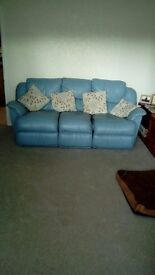 I have a 3 Seater Sofa, 2 seater sofa and a arm chair in leather, for sale