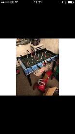 Foot ball table
