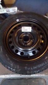 Vauxhall spare wheel 4 stud