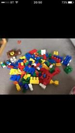Big bag of mega Bloks/ Lego bricks