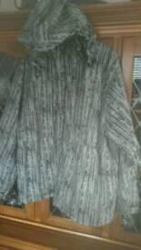 Large ski jacket