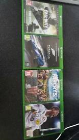 4 xbox one games 30 pounds quick sale