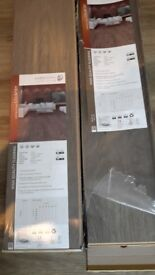 Reduced !!! Rustic oak laminate flooring one and half packets