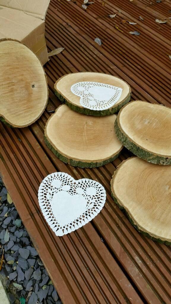 Wooden Centre pieces