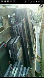 Double glazed glazing window replacement glass shed cloche new