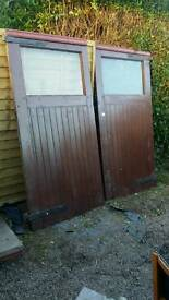 Shed doors