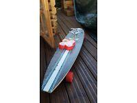 Awesome 51 inch longboard skate board plus extras
