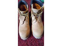 Timberland 10061 mens 6 inch premium waterproof boots size 13