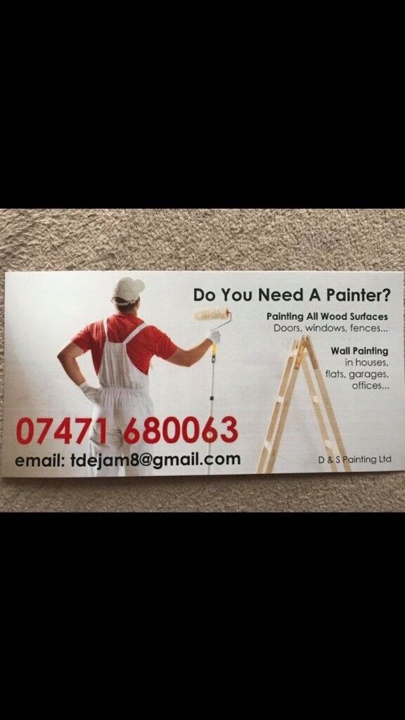 Do you need a painter?!