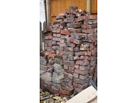 Bricks, lots of them, free old victorian style