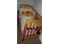 Baby cot, Very good condition