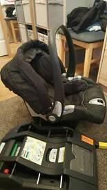 Mamas & papas car seat with isofix base
