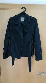 Tommy Hilfiger Denim Jacket Dark Blue Coat Size S