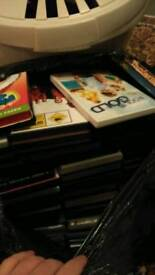 Hundreds of dvds, various titles. Joblot
