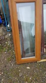 Double glazed opening window