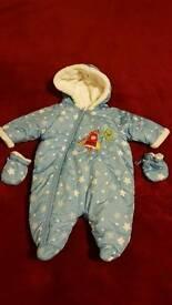 Baby boy winter snow suit 3-6 months