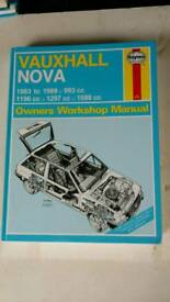 Vauxhall Nova Haynes Manual