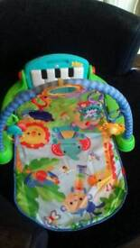 Fisher price playmat and chair