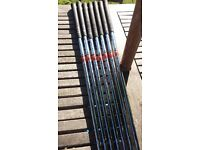 X 100 sl golf shafts