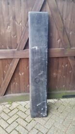 Large slate mantle, chipped but still usable
