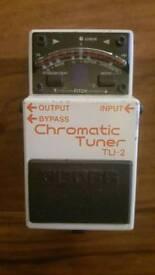 Boss TU-2 Guitar Effects Pedal
